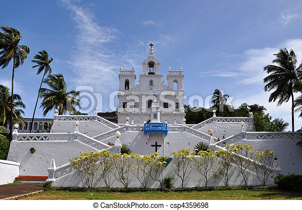 Catholic Church in India - csp4359698