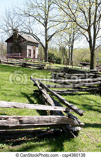Small farm house - csp4360138
