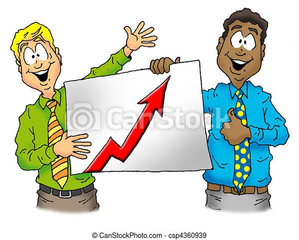 Sales Chart - csp4360939