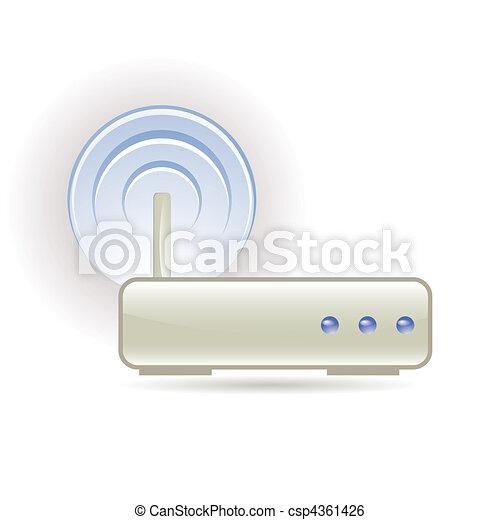 wireless signal - csp4361426