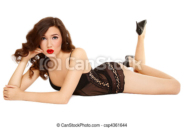 Pin-up girl - csp4361644