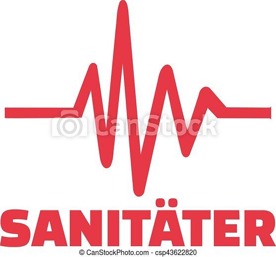 Sanitäter logo  Vektor Illustration von sanitäter, frequence - Paramedic, mit ...