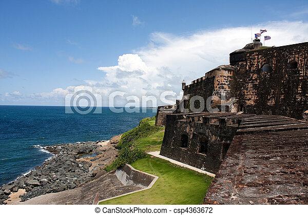 El Morro Fort - csp4363672