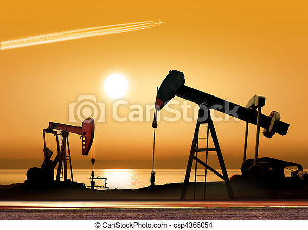 Working oil pumps - csp4365054