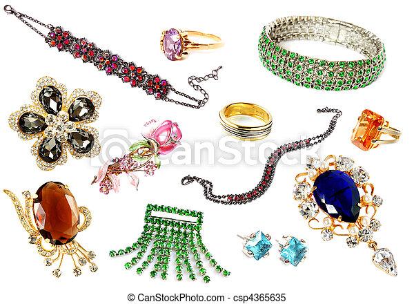 collection of feminine accessories - csp4365635