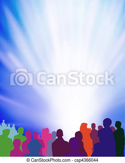 audience-event-illustration - csp4366044