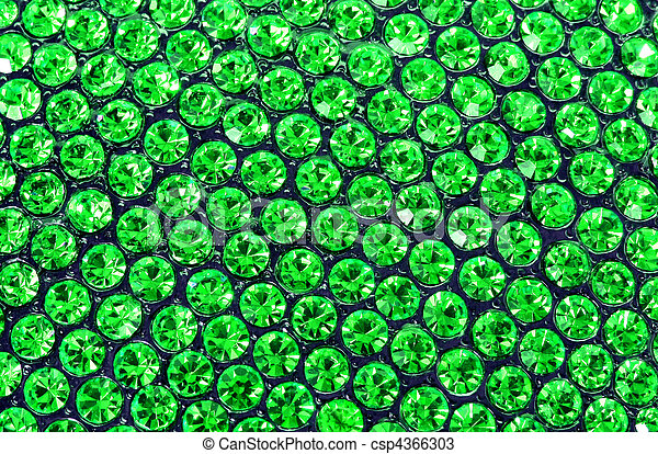 emerald green crystals - csp4366303