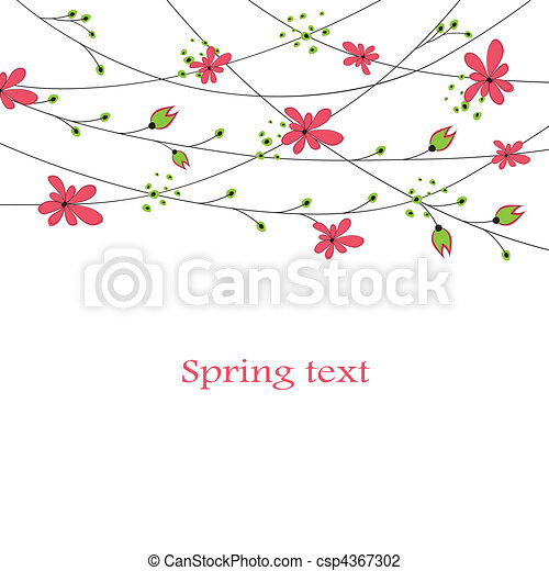 Cartoon congratulatory card .vector - csp4367302