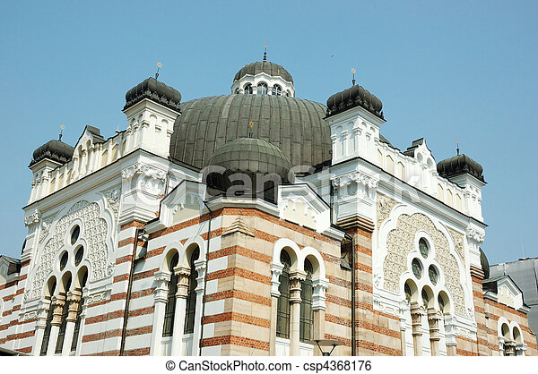 Sofia Synagogue-Bulgaria, Balkans - csp4368176