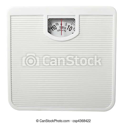 scale libra measurement tape diet - csp4368422