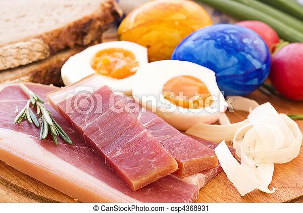 Easter Breakfast - csp4368931