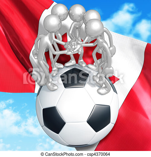 Soccer Football - csp4370064