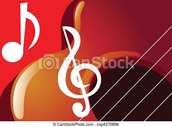 violin - csp4370896