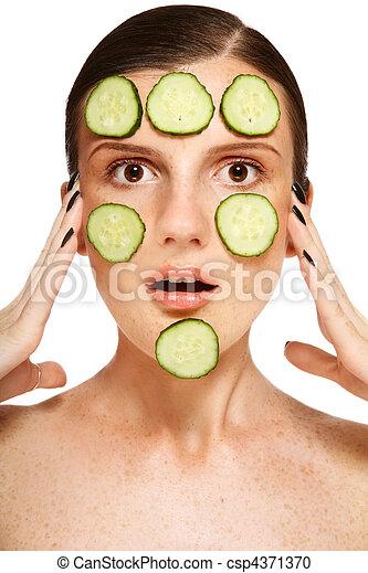 Freckles whitening - csp4371370