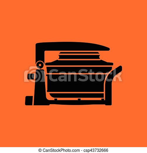 Electric convection oven icon - csp43732666