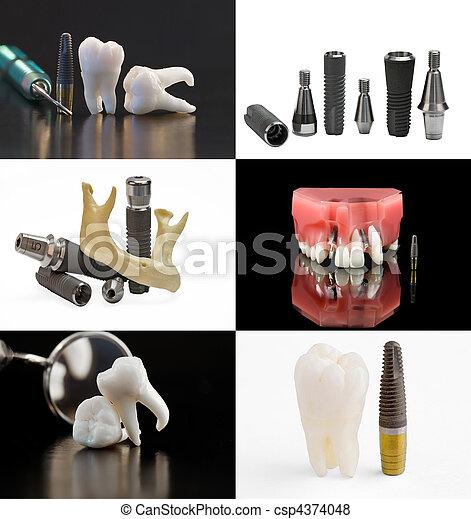 Dental background - csp4374048