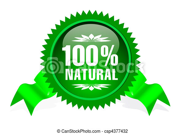 label for natural products - csp4377432