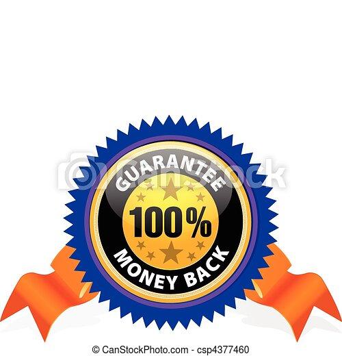 Money back guarantee - csp4377460