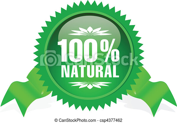 label for natural products - csp4377462