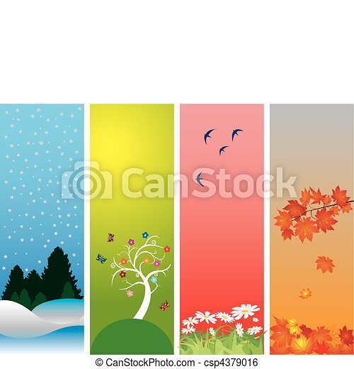 Four Seasons - csp4379016