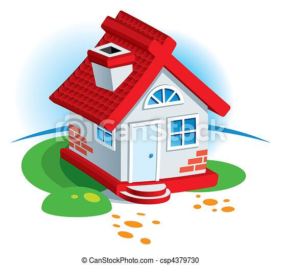 Village House - csp4379730