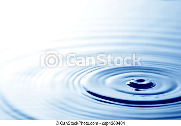 Ripples in water - csp4380404