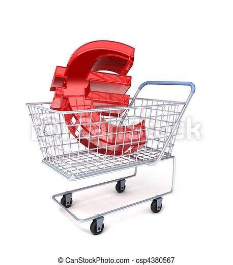 Shopping cart - csp4380567