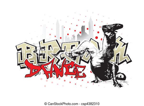 break dance 2 - csp4382310