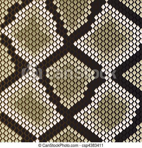 Snake skin - csp4383411