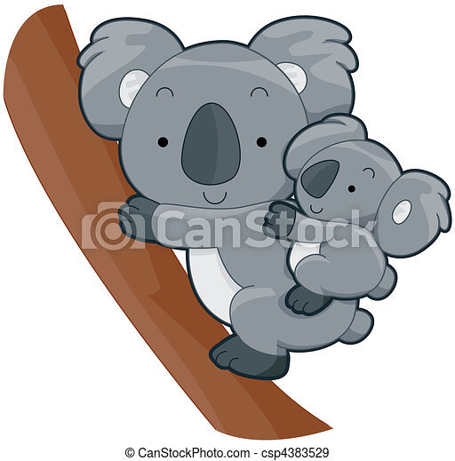 Clip Art Koala Clip Art koala clip art and stock illustrations 2453 eps cute with clipping path