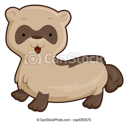 Ferret Drawing