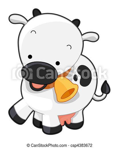 Cute Cow - csp4383672