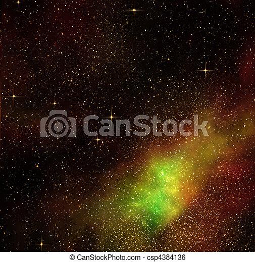 deep space cosmos stars - csp4384136