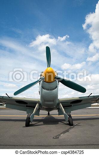 vintage fighter - csp4384725