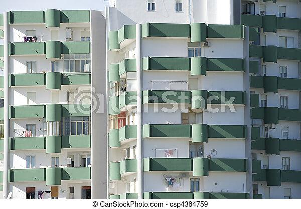 residential building - csp4384759