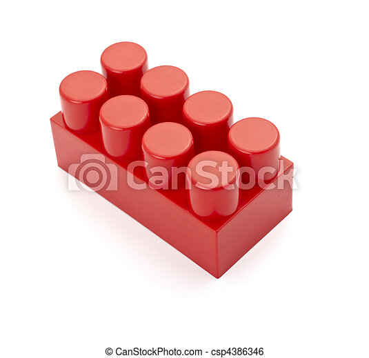 toy lego block construction education childhood - csp4386346