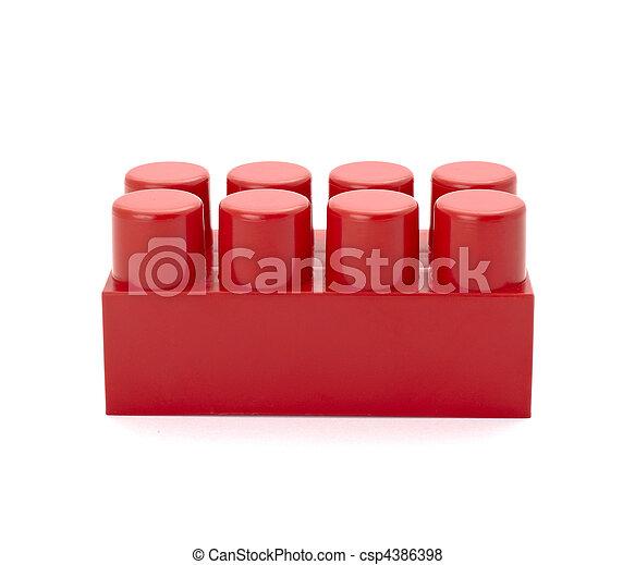 toy lego block construction education childhood - csp4386398