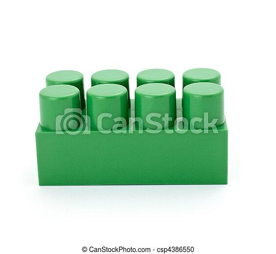 toy lego block construction education childhood - csp4386550