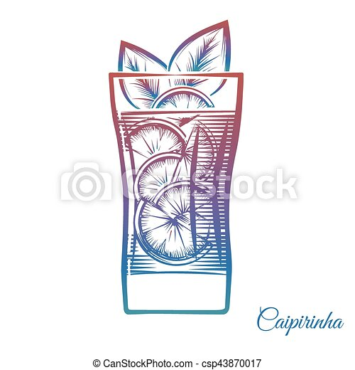 Colorful summer party cocktail - csp43870017