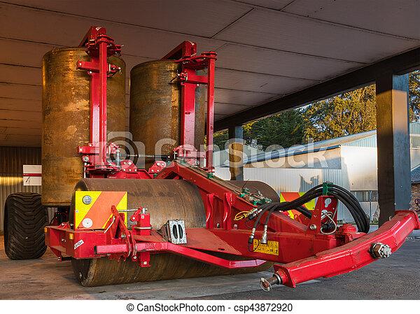Farm Roller - csp43872920