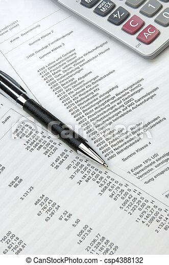contabilidade - csp4388132