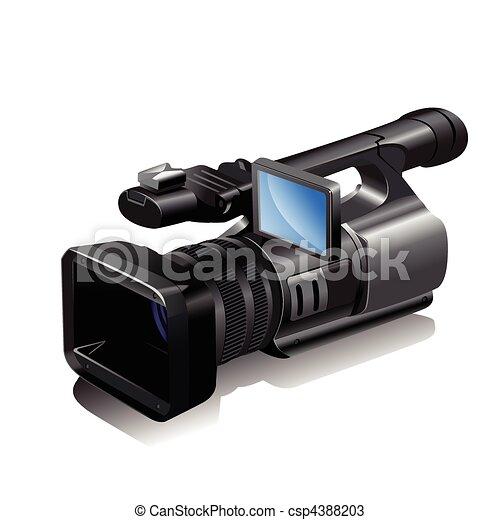 Video camera Clip Art Vector Graphics. 29,144 Video camera EPS ...