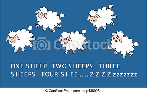 jumping sheeps - csp4389254