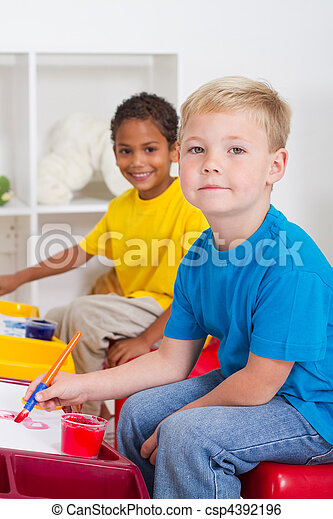 kindergarten boys - csp4392196