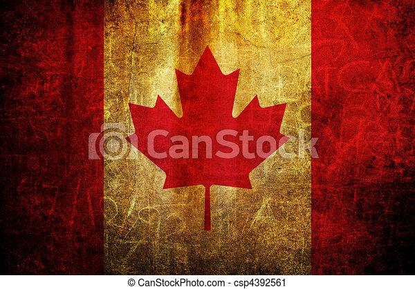 Flag of Canada - csp4392561