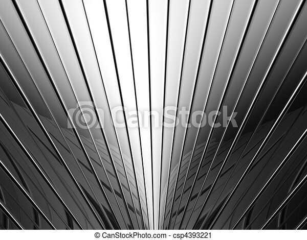 Aluminum stripe pattern background - csp4393221