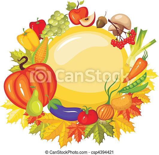 harvest card - csp4394421
