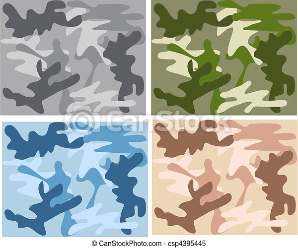 camouflage pattern -