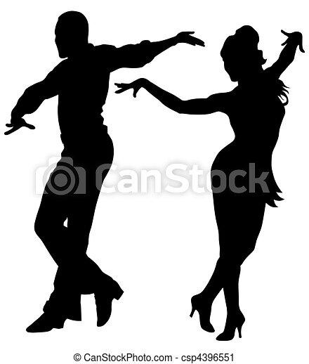 Dancers  - csp4396551