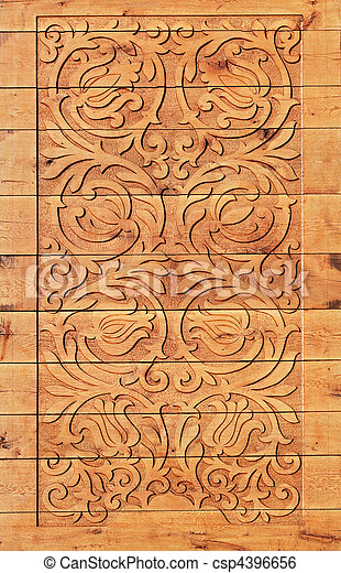 Wood carving - csp4396656